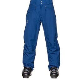Salomon Fantasy Mens Ski Pants, Blue Yonder, 256