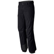 Mountain Hardwear Returnia Insulated Short Mens Ski Pants, Black, medium
