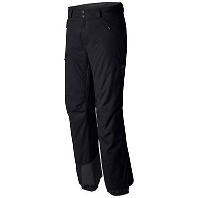Mountain Hardwear Returnia Insulated Long Mens Ski Pants, Black, viewer