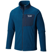 Mountain Hardwear Toasty Twill Mens Jacket, Phoenix Blue-Hardwear Navy, medium