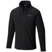 Mountain Hardwear Toasty Twill Mens Jacket, Black-Titanium, medium