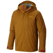Mountain Hardwear Binx Ridge Quadfecta Mens Insulated Ski Jacket, Golden Brown, medium