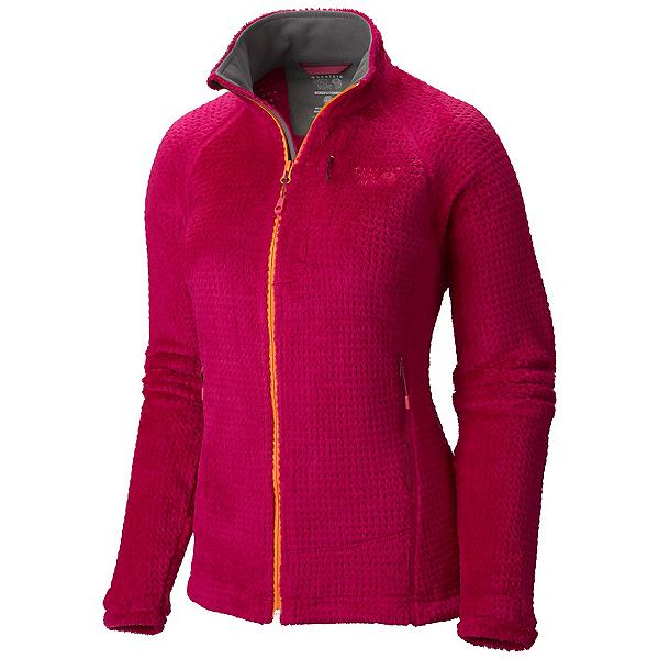 Mountain Hardwear Monkey Woman Grid II Womens Jacket, Deep Blush, 600