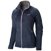 Mountain Hardwear Monkey Woman Grid II Womens Jacket, Zinc-Phantom Purple, medium