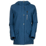 Roxy Andie Womens Insulated Snowboard Jacket, Ensign Blue, medium