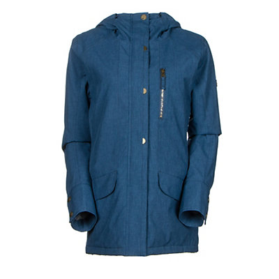 Roxy Andie Womens Insulated Snowboard Jacket, Ensign Blue, viewer