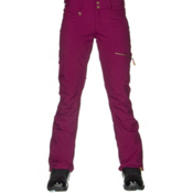 Roxy Cabin Womens Snowboard Pants, Magenta Purple, medium