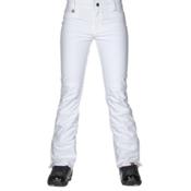 Roxy Creek Softshell Womens Snowboard Pants, Bright White, medium