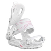 Head RX Fay I Womens Snowboard Bindings, White, medium