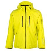 Descente Ski Cross Mens Insulated Ski Jacket, Sulfur Lime, medium