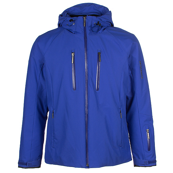 Descente Ski Cross Mens Insulated Ski Jacket, Royal Blue, 600
