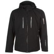 Descente Ski Cross Mens Insulated Ski Jacket, Black, medium