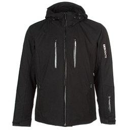 Descente Ski Cross Mens Insulated Ski Jacket, Black, 256