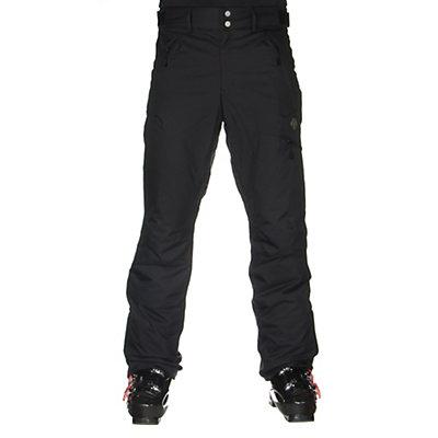 Descente Steep Mens Ski Pants, Black, viewer