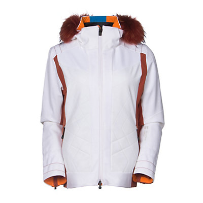 Mountain Force Rochelle Womens Insulated Ski Jacket, White-Picante, viewer