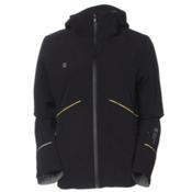 Mountain Force Idle Womens Insulated Ski Jacket, Black-Smoked Pearl, medium