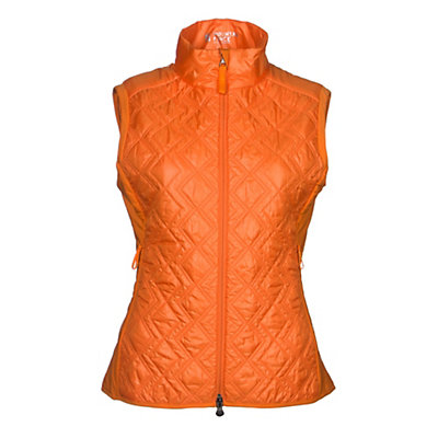 Mountain Force Insulation Womens Vest, Orange, viewer
