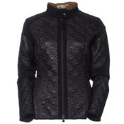 Mountain Force Diamond Insulation Womens Jacket, Black, medium