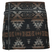 SKHOOP Nikita Mini Skirt, Dark Brown, medium