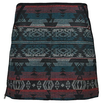 SKHOOP Doris Short Skirt, Aqua, viewer