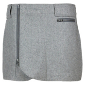 SKHOOP Wool Mini Skirt, Grey, medium