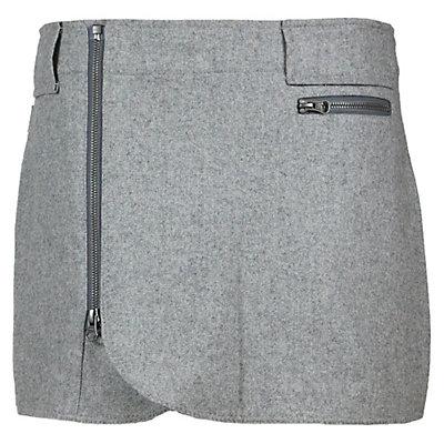 SKHOOP Wool Mini Skirt, Grey, viewer