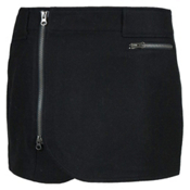 SKHOOP Wool Mini Skirt, Black, medium