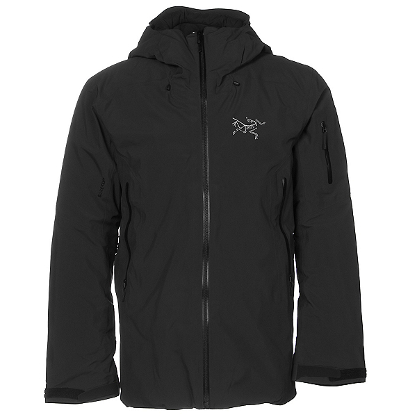 Arc'teryx Fissile Mens Insulated Ski Jacket, Carbon Copy, 600