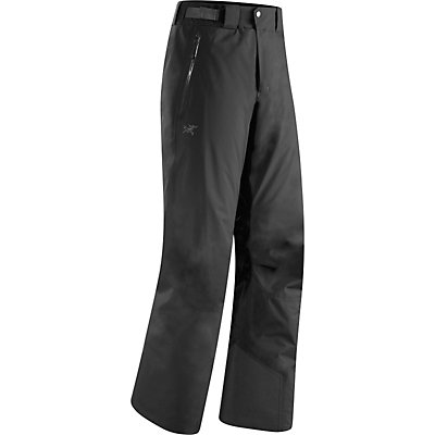 Arc'teryx Chilkoot Mens Ski Pants, Black, viewer