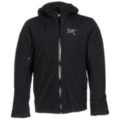 Arc'teryx Rethel Mens Insulated Ski Jacket, Black, medium