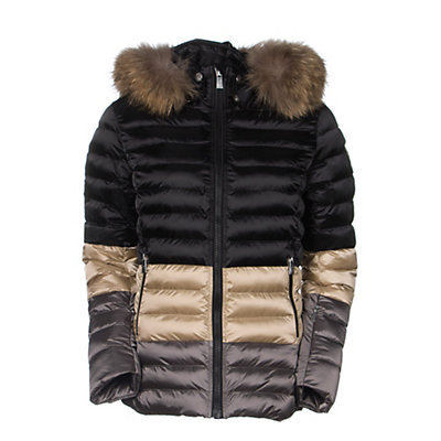 Toni Sailer Margot Splendid Fur Womens Insulated Ski Jacket, Redcurrant, viewer