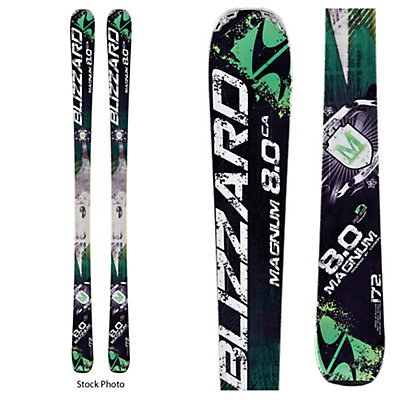 Used Blizzard Magnum 8.0 CA DEMO Skis, , viewer