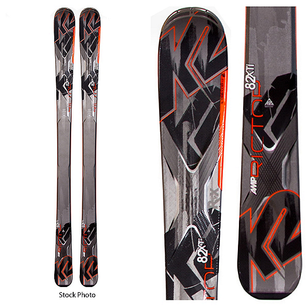 Used AMP Rictor 82 XTi DEMO Skis, , 600