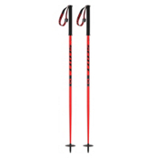Scott Riot Ski Poles, Red, medium