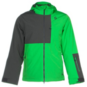 Scott Terrain Dryo Mens Insulated Ski Jacket, Classic Green-Dark Grey, medium