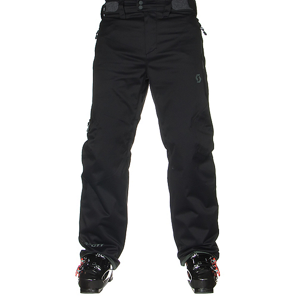 Scott Terrain Dryo Mens Ski Pants, Black Twill, 600