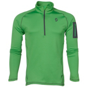 Scott Defined Light Pullover Mens Mid Layer, Classic Green, medium