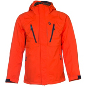 Scott Ultimate Dryo Mens Insulated Ski Jacket, Tangerine Orange, medium