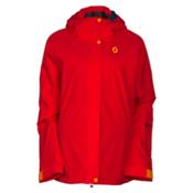 Scott Terrain Dryo Womens Insulated Ski Jacket, Hibiscus Red, medium