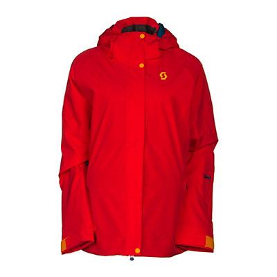 Scott Terrain Dryo Womens Insulated Ski Jacket, Hibiscus Red, viewer