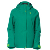 Scott Terrain Dryo Womens Insulated Ski Jacket, Kale Green, medium