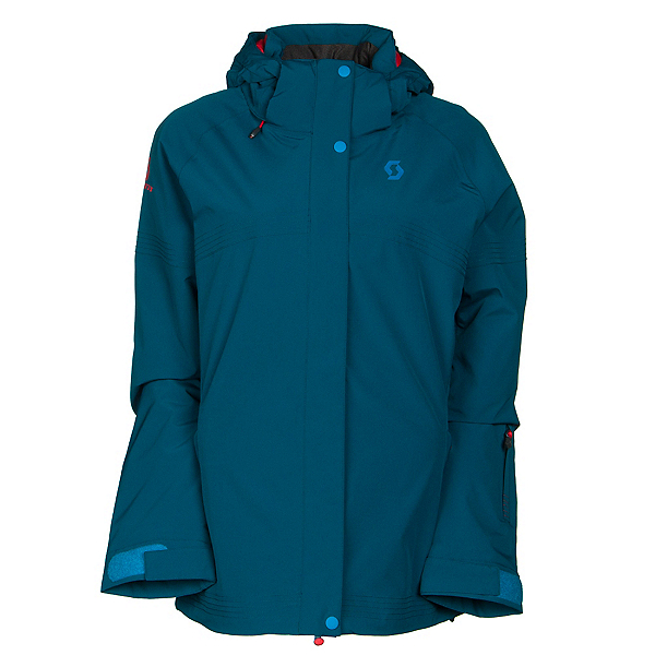 Scott Terrain Dryo Womens Insulated Ski Jacket, Ink Blue, 600