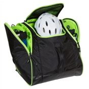 Sportube Freerider Ski Boot Bag, Black-Green, medium