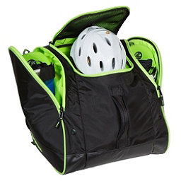Sportube Freerider Ski Boot Bag, Black-Green, 256