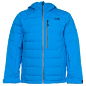 The North Face Point It Down Hybrid Mens Insulated Ski Jacket, Blue Aster, medium