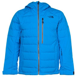 The North Face Point It Down Hybrid Mens Insulated Ski Jacket, Blue Aster, 256