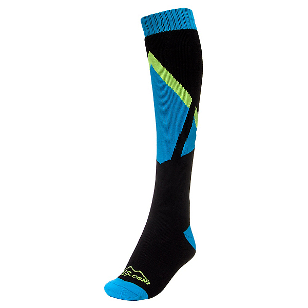 Bridgedale Skis.com Logo Ski Socks, Black, 600