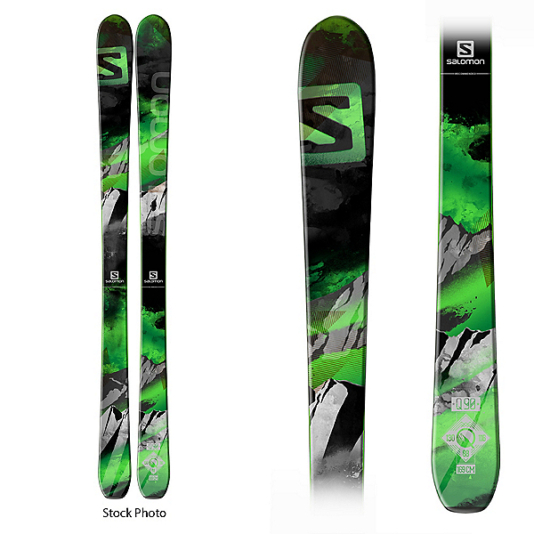 Used Salomon Q-90 DEMO Skis, , 600