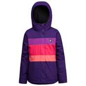 Orage Sultra Girls Ski Jacket, Iris, medium