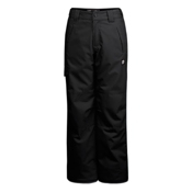 Orage Alex Boys Kids Ski Pants, Black, medium